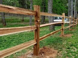 Cedar Split Rail Fence Material For Sale Okc Oklahoma Lumber Supply
