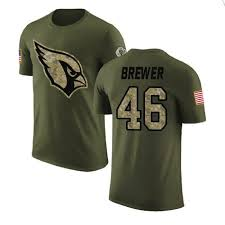 Aaron Brewer Salute to Service Hoodies & T-Shirts - Cardinals Store