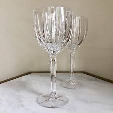 2 x waterford crystal marquis omega