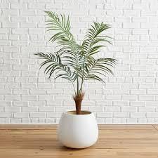 faux potted fan palm tree 4