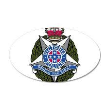 Victoria Police Logo 20x12 Oval Wall Decal By Boogeyman Cafepress