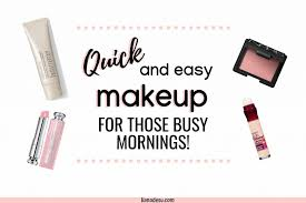 quick and easy makeup 5 must haves for