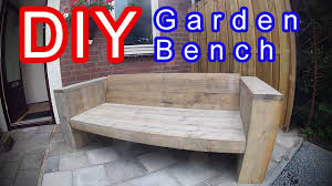 how to build an garden lounge seat sofa