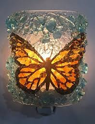 monarch erfly recycled bottle glass