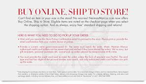 ship to at neiman marcus