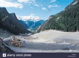 Lombardia - Valtellina frana Morignone Foto stock - Alamy