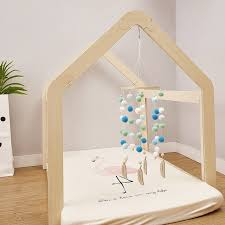 Best Deal 7df3b2 Baby Mobile Toys Wind Chimes Fluffy Beads Crib Toy For Kids Room Bed Hanging Decor Baby Room Decoration Tent Decor Gift Cicig Co