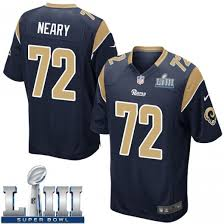Aaron Neary Youth Los Angeles Rams Nike Team Color Super Bowl LIII ...