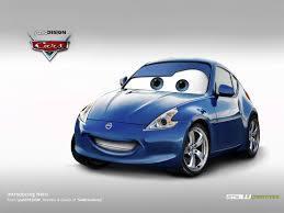 Disney Cars Nissan 370z By Yasiddesign On Deviantart Nissan