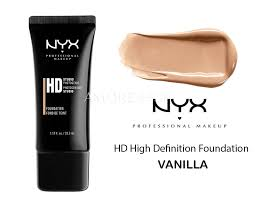 nyx hd high definition foundation