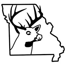 Missouri Deer Hunting Car Truck Window Decal Waterfowldecals Com
