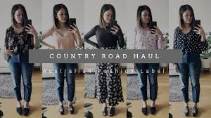 country road haul and try on