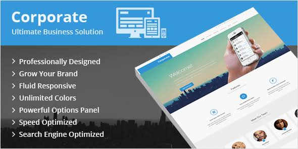 MyThemeShop Corporate WordPress Theme