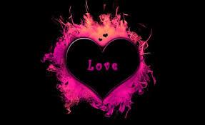 خلفيات منوعة ل قلوب قلب أجنحة Flaming Hearts عالية الوضوح 27