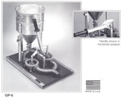 hand operated mortar grout pump
