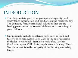 Best Products For Pool Fence Safety Parts