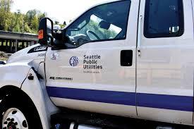 Seattle Public Utilities Fleet Graphics United Print Signs Graphics