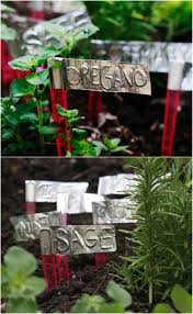 25 diy garden markers to organize and