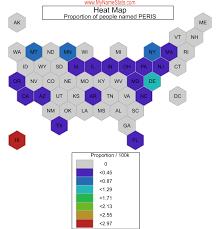 PERIS Last Name Statistics by MyNameStats.com