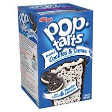 pop tarts frosted cookies cream