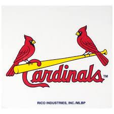 Mlb St Louis Cardinals Reusable Static Cling Decal Walmart Com Walmart Com