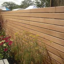 Western Red Cedar Slatted Screen Boards 19 X 94mm From Silva Timber Products Fence Design Silva Timber Slatted Fence Panels