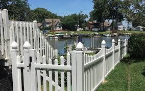 Pvc Picket Fence Photos Arnold Baltimore Glen Burnie Columbia Md