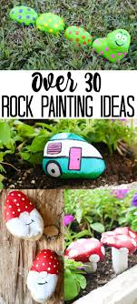 rock painting ideas over 35 adorable