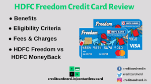 hdfc freedom credit card the card