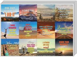 Creanoso Strong Determination Life Inspirational Quotes Stickers 20 S