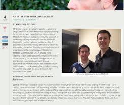 "PRESS: Univ. of N. Texas ""An Interview with Jamie Moffett ..."