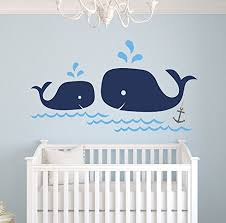 Whale Wall Decals Kritters In The Mailbox Whale Wall Decal