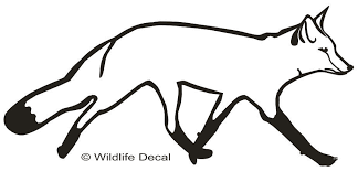 Fox Decal Md2 Vinyl Hunting Decals And Stickers Wildlife Decal