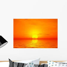 Sunrise Wall Decal Design 6 Wallmonkeys Com