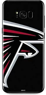 Amazon Com Skinit Decal Phone Skin For Galaxy S8 Plus Officially Licensed Nfl Atlanta Falcons Large Logo Design