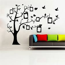 Sd 3 Picture Frame Tree Decal Vinyl Wall Sticker Art Shabby Chic Vintage