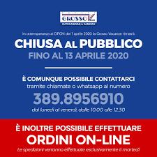 AGGIORNAMENTO – Chiusura al pubblico fino al 13 aprile 2020 ...