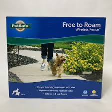 Brand New Petsafe Pif00 15001 Free To Roam Wireless Fence 3 4 Acre Paymore Cary