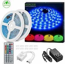 led strip lights kit waterproof 32 8ft