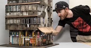 Miniature Displays of Contemporary Urban Buildings by Joshua Smith |  Colossal
