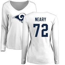 Women's Aaron Neary Los Angeles Rams Name & Number Logo Slim Fit ...