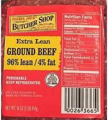 butcher extra lean ground beef