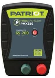 Buy Here Patriot Pmx 350 Ac Powered Fence Charger Free Shipping Patriot Electric Fence Chargers Fencing And Farm Supplies From Valley Farm Supply