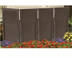 Privacy Screen Outdoor Garden Folding Wall Panel Trellis Room Divider Patio Yard Ebay