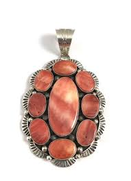 sterling silver navajo spiny oyster