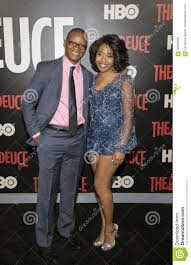 Lawrence Gilliard Jr. And Dominique Fishback Editorial Image - Image of  cleavage, dominique: 99594460