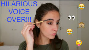 funniest makeup tutorial voiceover ever