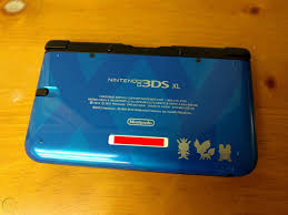 Nintendo 3DS XL - Blue Pokemon XY Limited Edition System