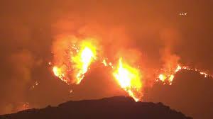 Bobcat Fire Grows / Monrivia CA - YouTube