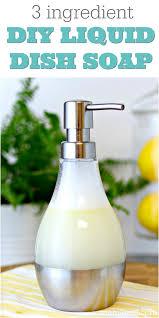easy 3 ing diy dish soap recipe